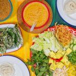 Vegan Thai noodles supper club