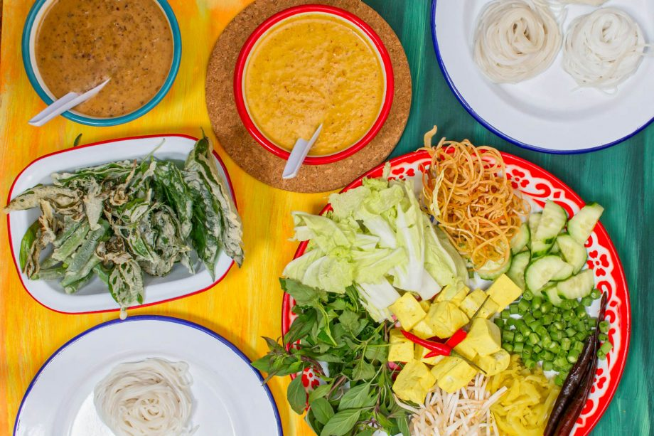 Vegan Thai noodles supper club