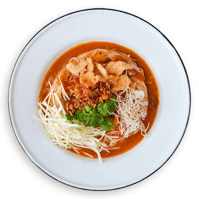 Noodle plate icon